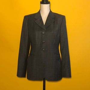 GRAND PRIX Made in Canada Wool Blazer Jacket